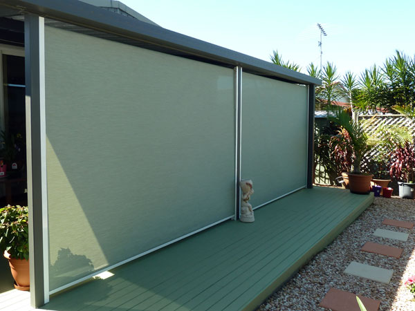Multistop awning