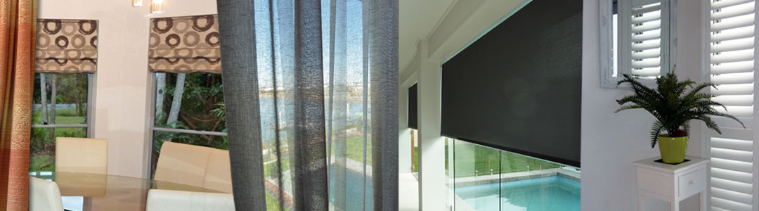 Curtains, Blinds, Shutters, Awnings available from Lindy's Curtains and Blinds