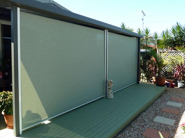 Multistop awning