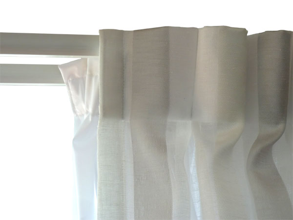 Double track, sheer and lining