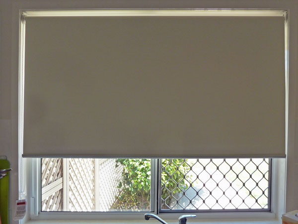 Roller blind available from Lindy's Curtains and Blinds