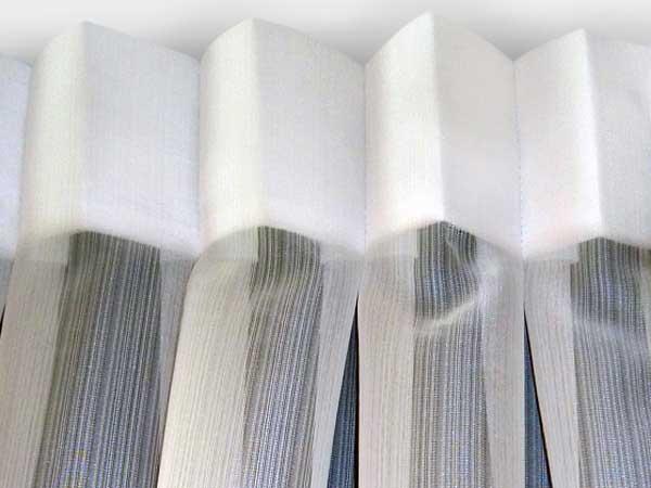 Box Pleat curtain
